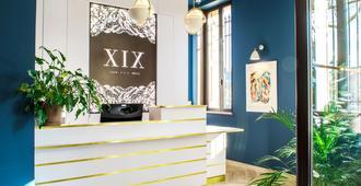 Hôtel Le XIX - Béziers - Rezeption