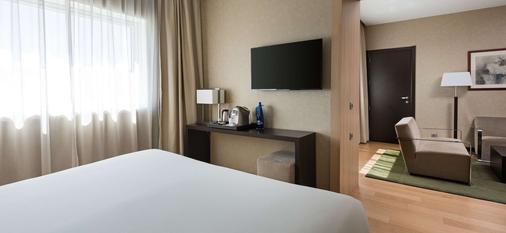 NH 曼薩納雷斯河岸酒店 - 馬德里 - 馬德里 - 臥室
