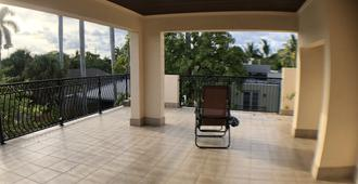 Huge House close to Everything 821 - Fort Lauderdale - Balcony