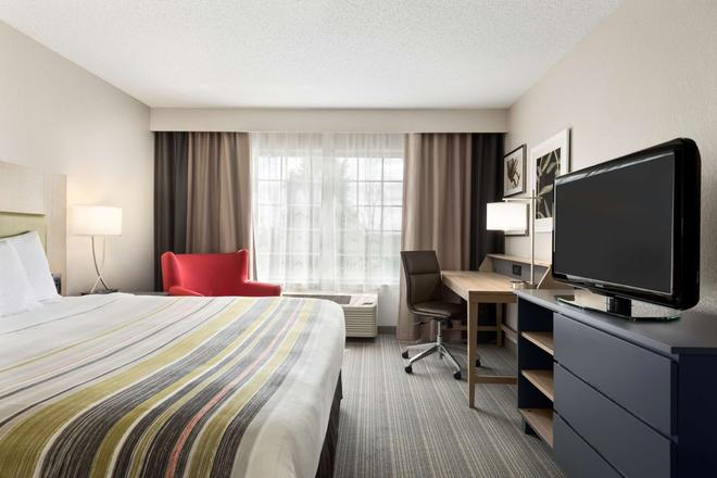 Country Inn & Suites by Radisson, Romeoville, IL - Romeoville - Bedroom