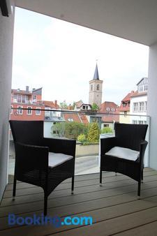 Hotel Am Kaisersaal - Erfurt - Balcony