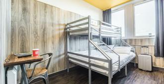 يورو هوستيل جلاسجو - غلاسكو - غرفة نوم