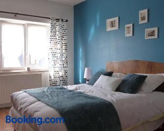 Ancienne Fermette le Charlemont Foisches GIvet - Givet - Bedroom
