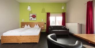 Hotel Cafe Demling - וירצבורג - חדר שינה