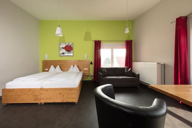 Hotel-Cafe Demling - Wurzburg - Bedroom