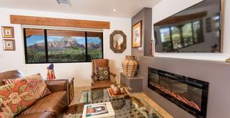 A Sunset Chateau - Sedona - Sala de estar