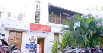 A La Villa Creole - פונדיצ'רי - בניין