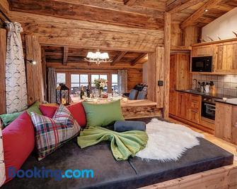 Highking Chalet Grünegg - Dienten am Hochkonig - Wohnzimmer