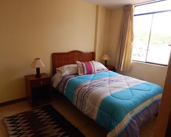 Hotel Internacional Cabanaconde - Cabanaconde - Bedroom