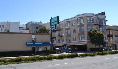 Alpha Inn & Suites - San Francisco - Rakennus