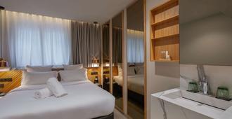 ホテル ウィンザー - ジュネーブ - 寝室