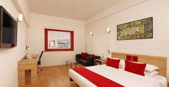Red Fox Hotel, Hitec City, Hyderabad - Hyderabad - Bedroom