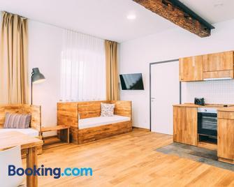 Amtshaus Gut Hügle Boutique Apartments - Bad Waldsee - Living room