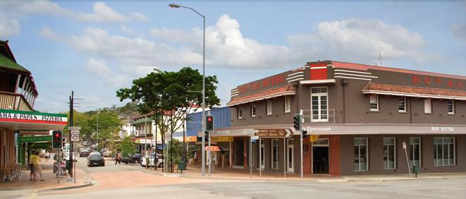 The Royal Hotel - Gympie - Building