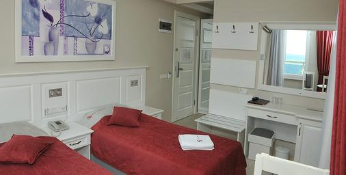 Savk Hotel - Alanya - Bedroom