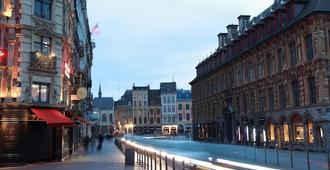 Hotel De La Paix - Lille - Utsikt
