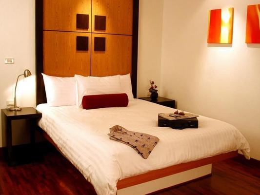 格羅蒂諾公寓酒店 - 曼谷 - 臥室