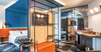 諾富特波恩酒店 - 波恩 - 波納山坡 - 臥室