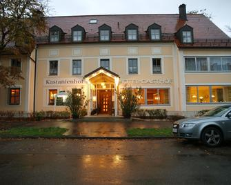 Hotel-Restaurant Kastanienhof Lauingen - Lauingen - Gebäude
