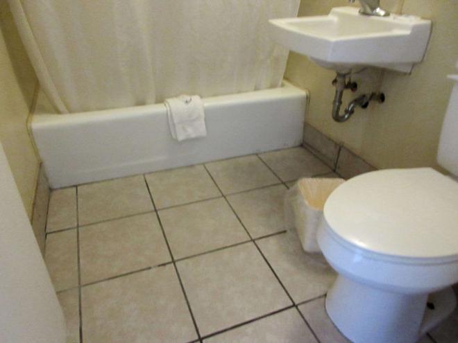 Rodeway Inn - Terre Haute - Phòng tắm