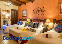 ホテル カサ デル パルケ - アンティグア・グアテマラ - 寝室