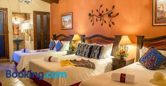 Hotel Casa del Parque - Антигуа-Гватемала - Спальня
