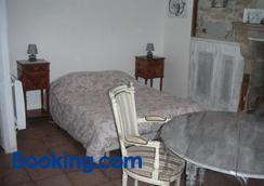 Chambre d'hôte du Plessis - Beaurepaire - Bedroom