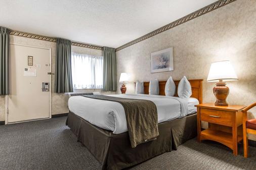矽谷品質套房酒店 - 聖塔克拉拉 - 聖克拉拉 - 臥室