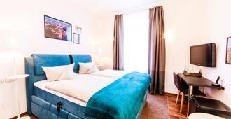 Hotel Kaiserhof - קרלסרוהה - חדר שינה