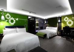 Icloud Luxury Resort & Hotel - Taichung - Makuuhuone
