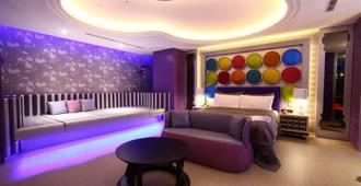 Icloud Luxury Resort & Hotel - Đài Trung - Phòng ngủ