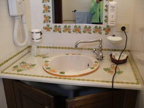 Hotel A' Pinnata - Lipari - Bathroom