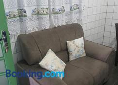 suite 02 - privativa, aconchegante e independente - Cuiabá - Sala de estar