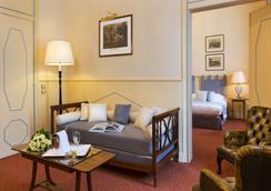 Hôtel Barrière Le Westminster - Le Touquet - Living room