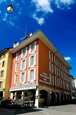 Hotel Restaurant Les Négociants - Vevey - Building