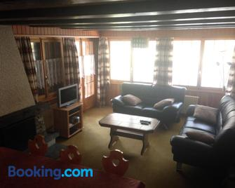Apartment Panorama - Evolène - Living room