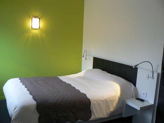 Brit Hotel Confort Rouen Centre - Rouen - Bedroom