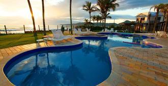 Atlântico Hotel & Convenções - בומבינהאס - בריכה