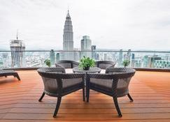 The Penthouse Klcc - Kuala Lumpur - Balcon