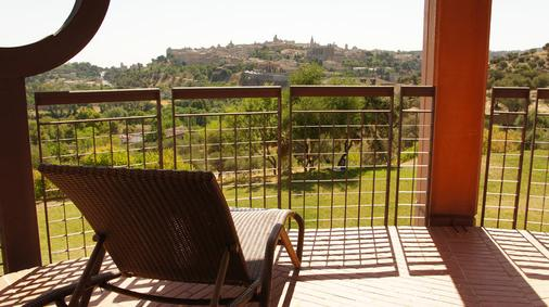 Hotel Cigarral el Bosque - Toledo - Balcony