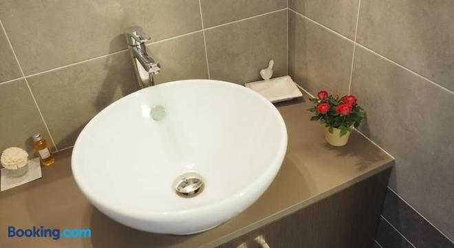 Les Grands Aulnais - Cossé-le-Vivien - Bathroom