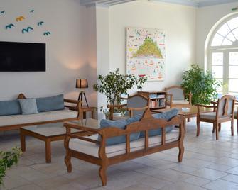 A Hotel - Spétses - Wohnzimmer