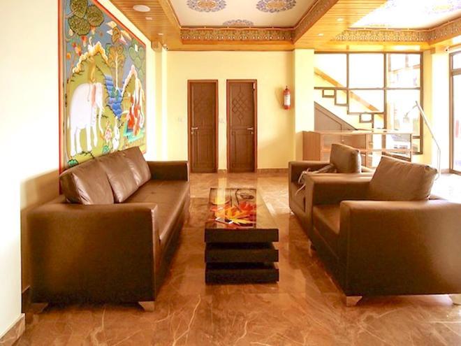 Jewel of the East Residency & Spa - Gangtok - Living room