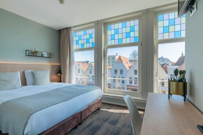 City Hotel Rembrandt - Leiden - Makuuhuone
