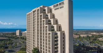 Fashion Island Hotel Newport Beach - Пляж Newport Beach - Здание