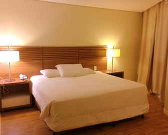 Umbu Hotel Porto Alegre - Porto Alegre - Schlafzimmer