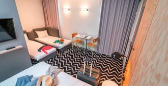 巴特卡耶斯意大利廣場酒店 - 巴黎 - 巴黎 - 臥室