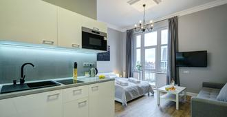 Dom & House - Apartments Podjazd Central Sopot - Sopot - Cocina