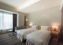 โรงแรมคอซซี่ จงซาน เกาสง - เกาสง - ห้องนอน