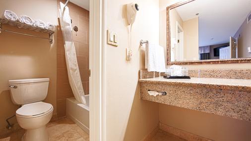 Best Western Plus Meridian Inn & Suites, Anaheim-Orange - Orange - Bathroom